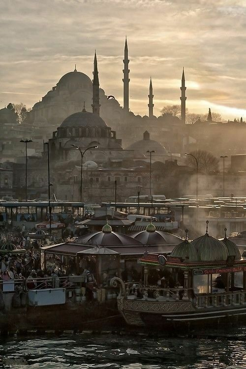 Istanbul in the morning is fabulous, the sun rising, the people getting prepared for work, the city is basically waking up.
