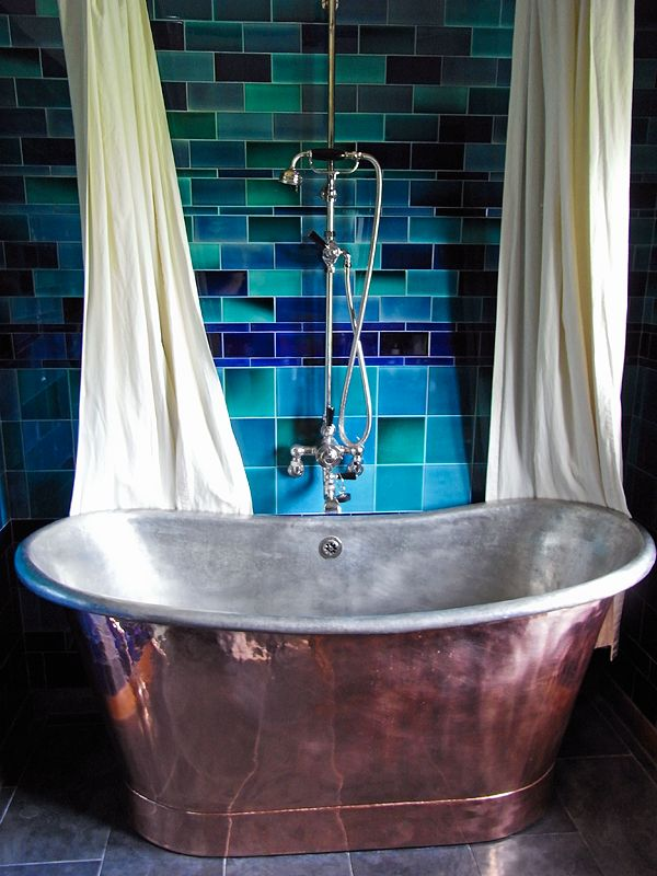 I aspire to have a copper tub.