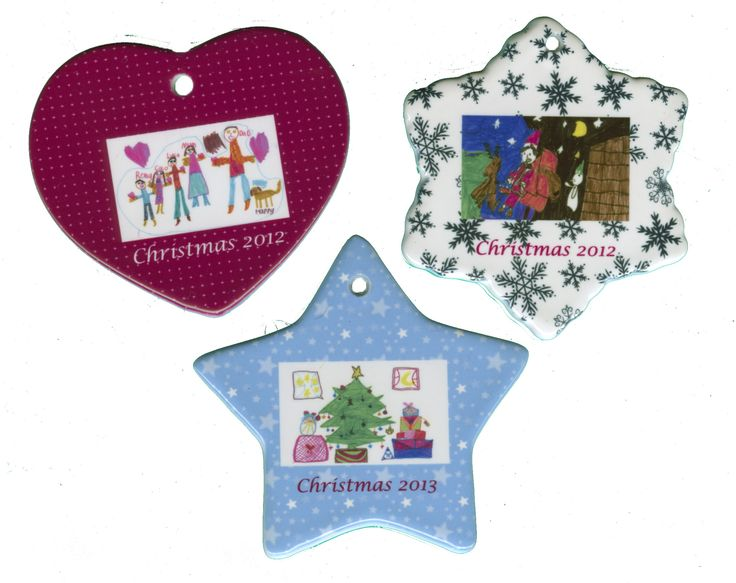#Christmas decoration displaying the children's #artwork will be cherished for many years.