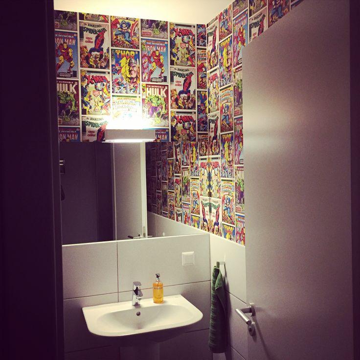 Comic Toilet, Marvel, Guest Toilet, Toilette, WC Design ...