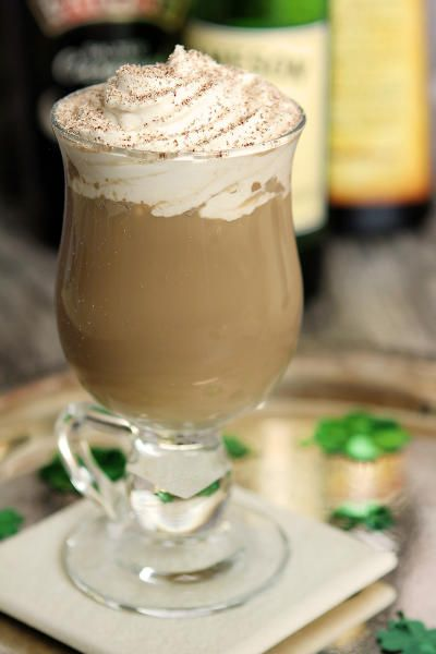 The Nutty Irishman Cocktail will make everyone feel Irish on St. Patrick's Day. Enjoy all year around!