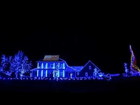 2013 Christmas Lights- Thank You Troops and Veterans 2013