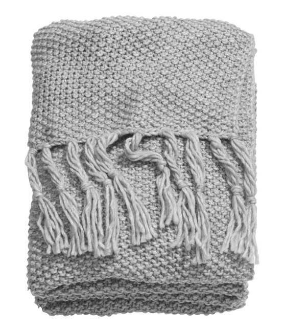 Moss-knit Blanket