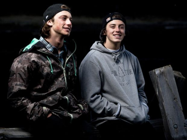 mark mcmorris & friend #snowboarders