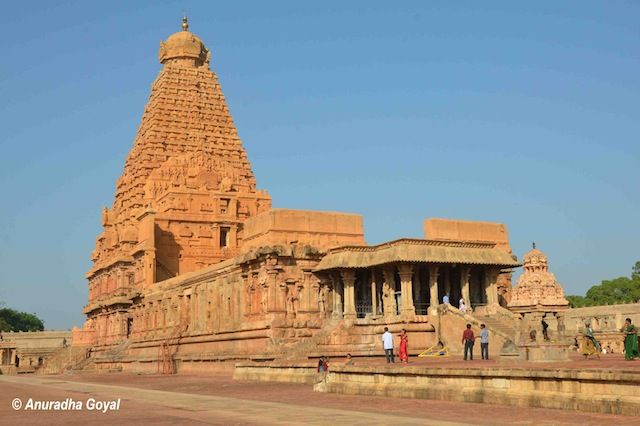 Epitome of Chola Temple Architecture - Brihideeshwara or Big Temple at Tanjore or Thanjavur