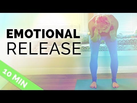Gentle Somatic Yoga for Emotional Release (10-min) - Shake It Off Yoga