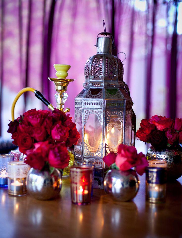 Arab/asian Wedding table deco