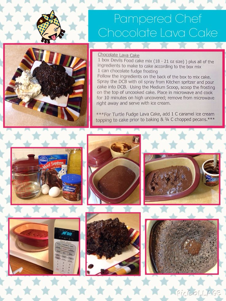 Pampered Chef Cake Recipes