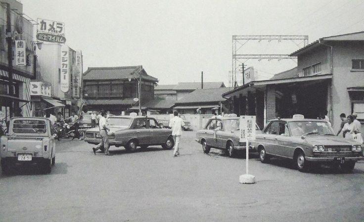 昭和スポット巡り on Twitter 昭和42年 東武下赤塚駅