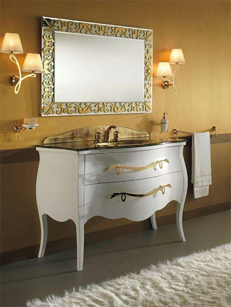 meuble de salle de bain de style rtro - Salle De Bain Ancienne Retro
