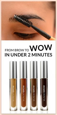 If time isn't your friend, then let WunderBrow be there for you & become your knight in shinning armor! Applying WunderBrow takes less time than it would to have a shower, that's how quick it is to apply! Click on the 'visit' button to be directed to our page. From there choose your shade, enter your details & finally confirm your order for $22 + free shipping. Try WunderBrow today with our risk free, 30 day money back guarantee! This game changer is something you won't want to miss out on!