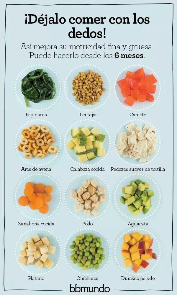 Supplementary Feeding Alimentacion Bebe Comida Bebe 6 Meses