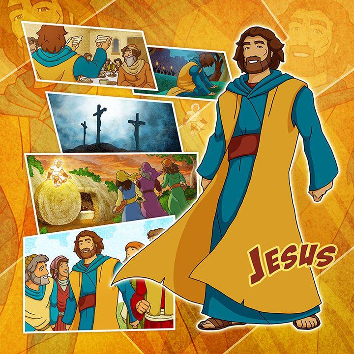 Bible Super Heroes Jesus 2 By Eikonik