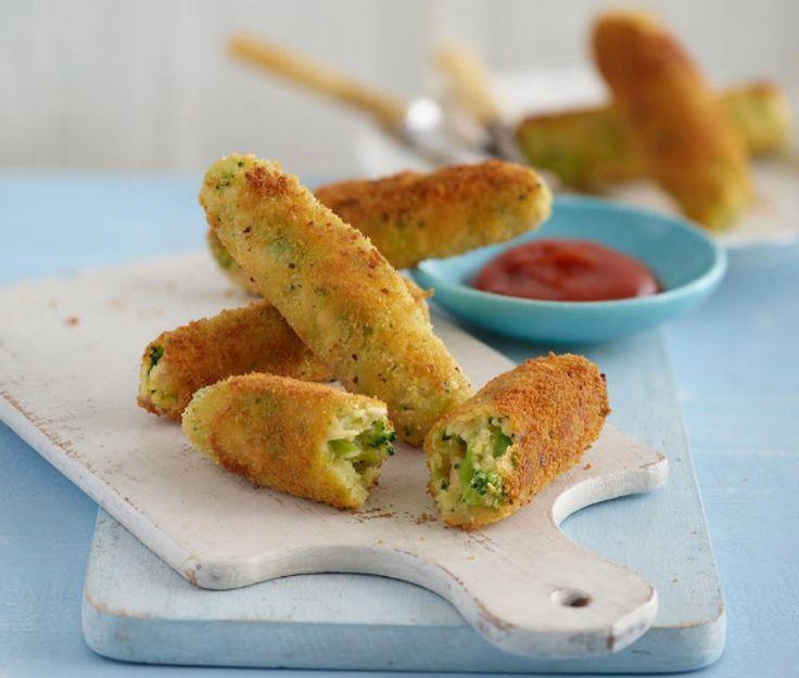 Μαλακά finger food για τα μωράκια μας! Ένας νόστιμος συνδυασμός γεύσεων για να ευχαριστήσετε τον ουρανίσκο του παιδιού σας. Χρόνος ετοιμασίας : 30 λεπτά Χρόνος μαγειρέματος: 15 λεπτά Μερίδες : 8 Κατάλληλο για ηλικίες: Από 9 μηνών Υλικά: 75 γρ. μπρόκολο 110