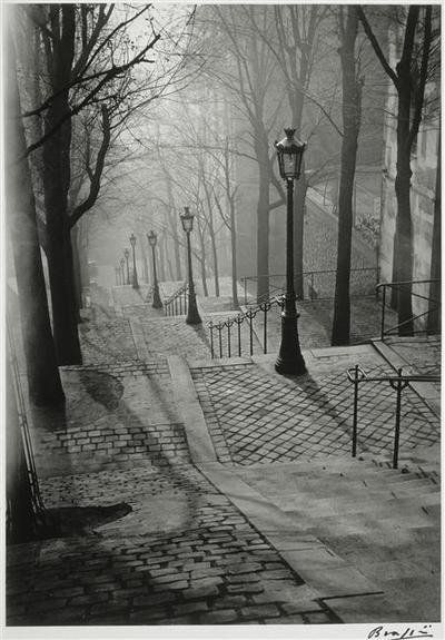 Les Escaliers de Montmartre, Paris-Brassai