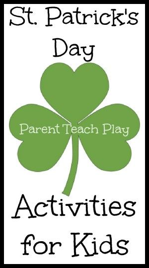 St. Patrick's Day Activities for Kids round-up