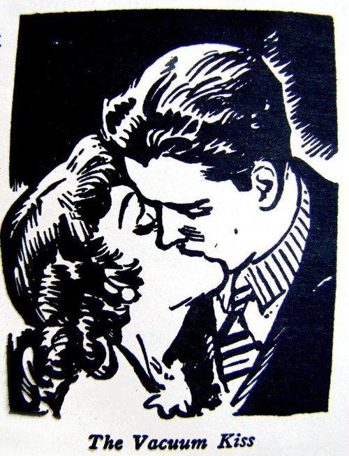 great resource    1930s: The Art of Kissing  The Art of Kissingby Hugh Morris, 1936 (reprinted in 1988).