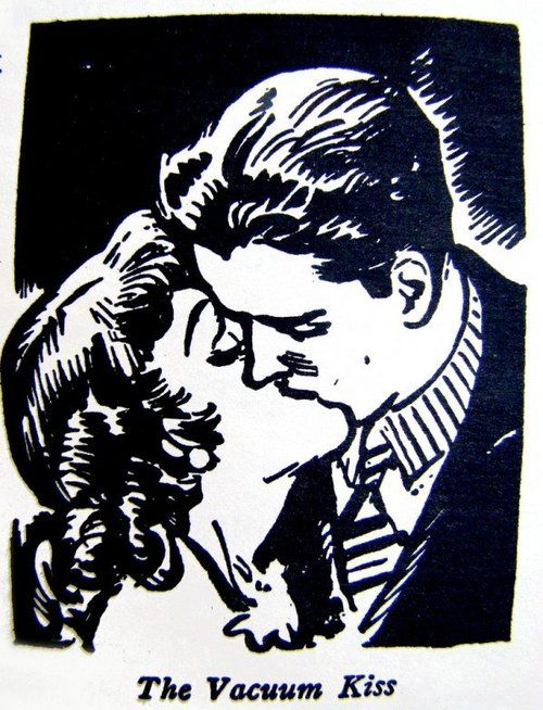 great resource    1930s : The Art of Kissing  The Art of Kissing by Hugh Morris, 1936 (reprinted in 1988).