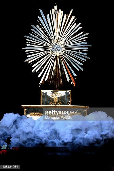 The monstrance used during the Feast of Corpus Christi. The... #alliste: The monstrance used during the Feast of Corpus Christi.… #alliste