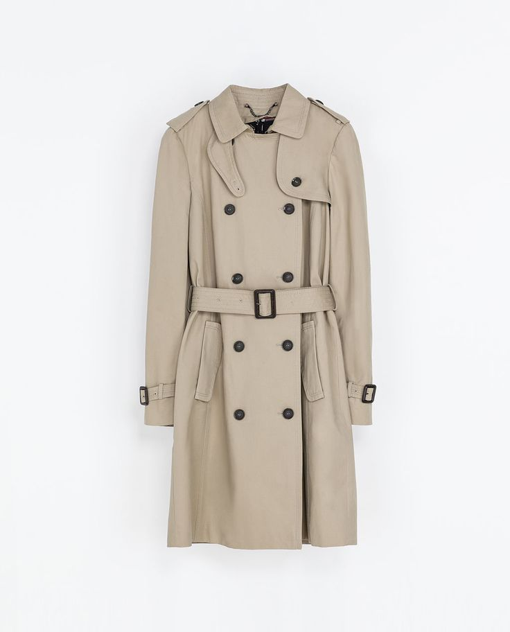 ZARA - WOMAN - TRENCH COAT WITH DETACHABLE LINING