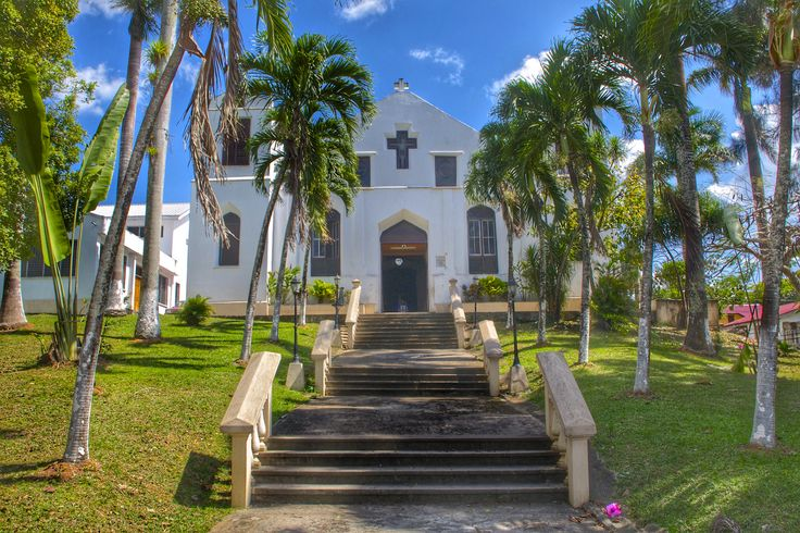 Our Lady of Mt. Carmel church in Benque Viejo del Carmen