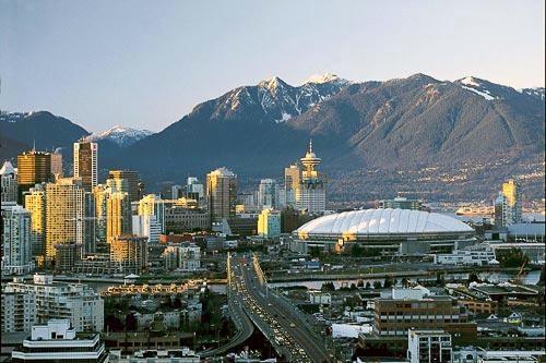 The Vancouver skyline. Courtesy Tourism Vancouver.