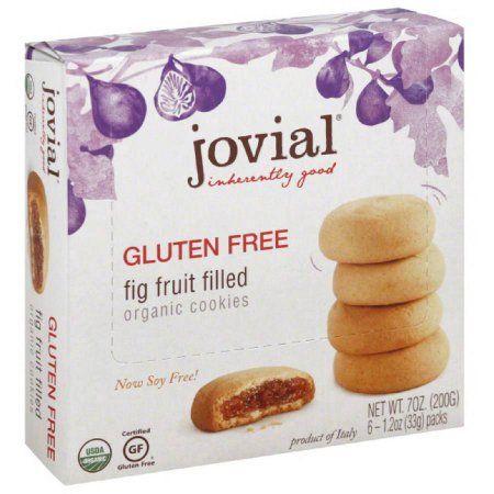 Jovial Fig Fruit Filled Cookies, 7 oz, (Pack of 5)