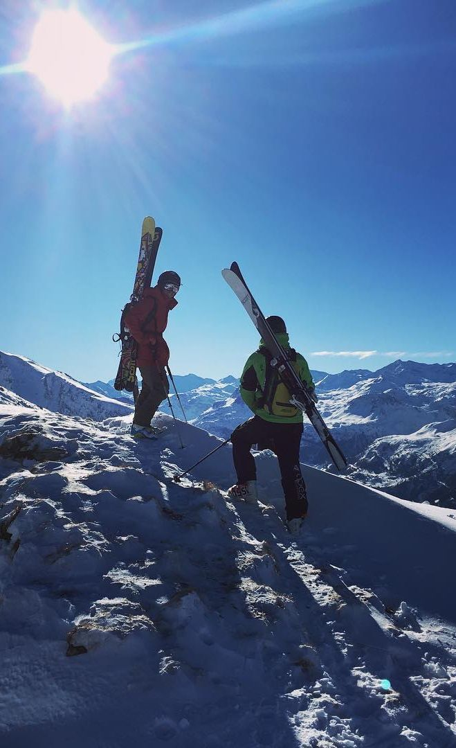 Throwback to being on top of the world with @apexsnowsports - Ski Touring at its best!