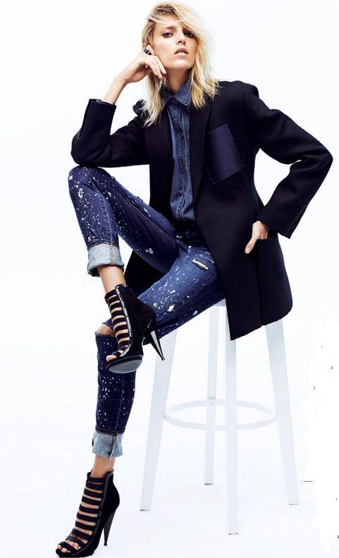 anja rubik by david vasiljevic for elle poland april 2014 #fashion #editorials #style #editoriasdemoda