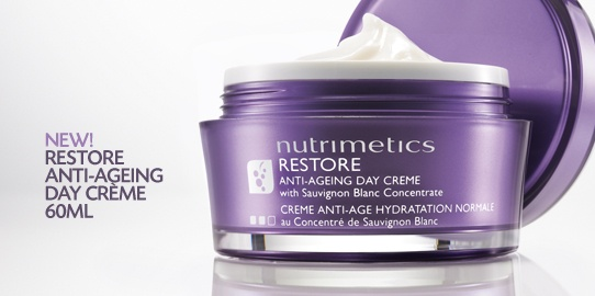 New Restore Anti-Ageing Night Creme- This fresh,ultra hydrating moisturiser deeply replenishes the skin, and addresses fine lines, wrinkles and pigmentation.