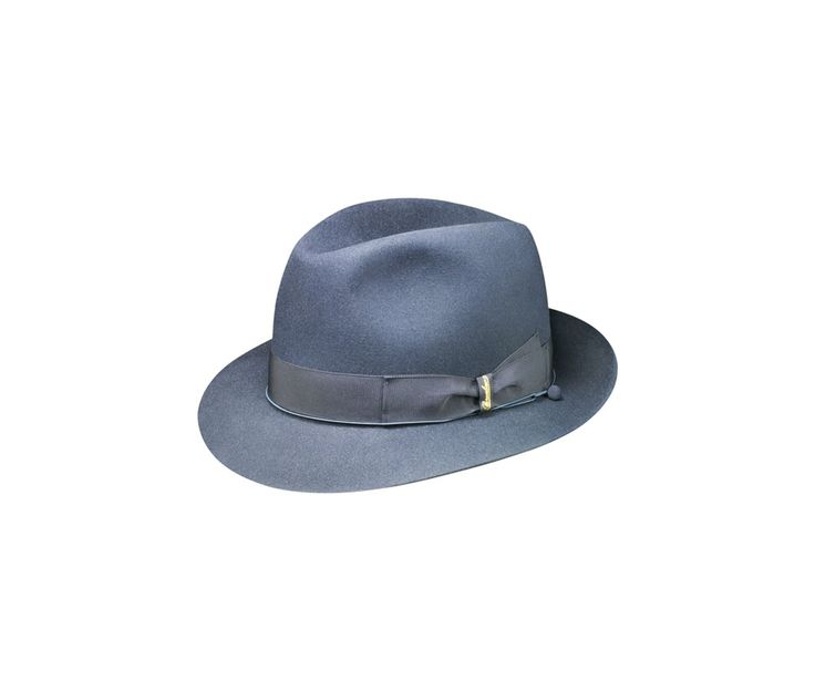 Charlait felt hat. Product code: 111160. Shop it here: http://shop.borsalino.com/en/mans-collection/fall/winter/felt-hats-carry-over/charlait-narrow-brim.