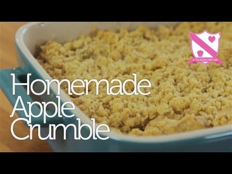 Homemade Apple Crumble Recipe - YouTube