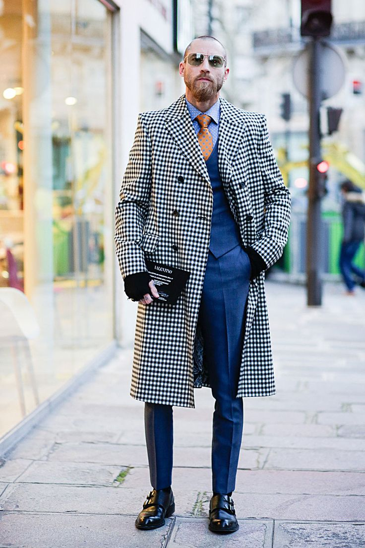 With a different cravat, this is fun, edgy style...!!!