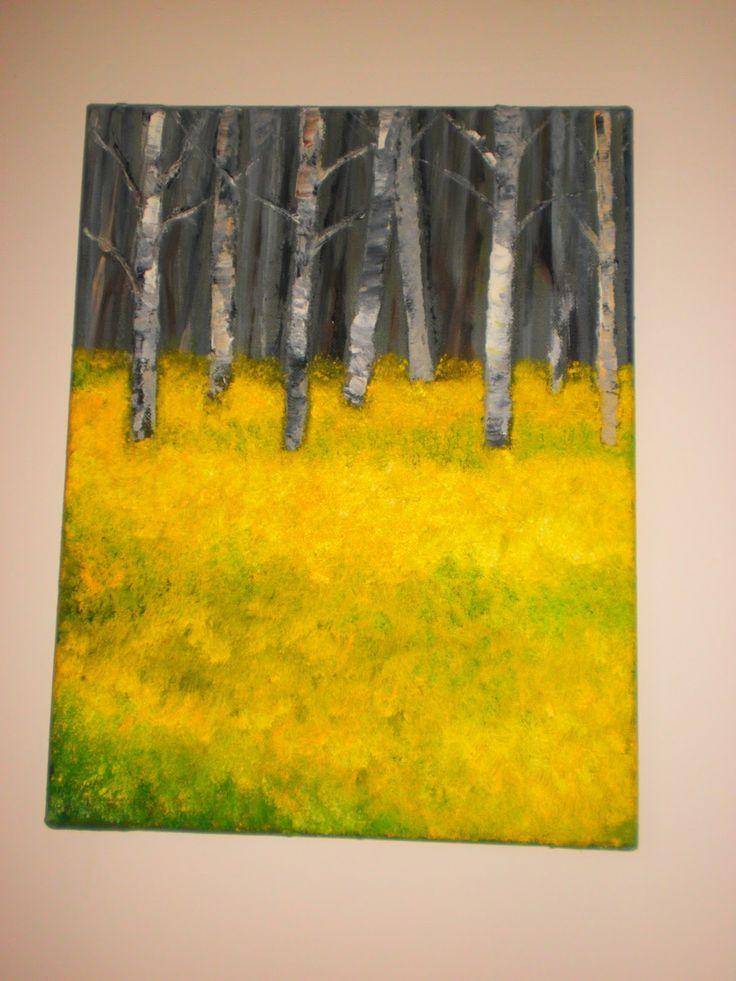 painting, oleo, art, DIY, home déco
