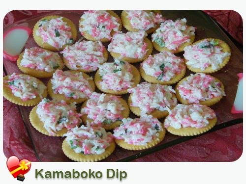 Local Favorite Kamaboko DipPerfect for parties and potlucks, simple and tasty. Enjoy!    Print    Kamaboko Dip     Cuisine: Japanese Local Style Recipe type: Appetizer        Ingredients  1 kamaboko (fishcake) 3 stalks green onion, chopped Salt and pepper ...