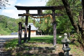 長野県小谷村の千国諏訪神社です。-Chikuni Suwa Jinja (Otari Village,Nagano)- 糸魚川から安曇野へと続く塩の道にある神社です。秋の例祭「ささらすり」でも知られています。小谷村千国は、江戸時代には海産物や農作物が運ばれる街道として大切な場所で、宿場町として栄えていたそうです。 本殿は1800年に浅川豊八さんが手掛けた大隅流の一間社流造です。