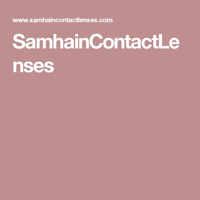 SamhainContactLenses