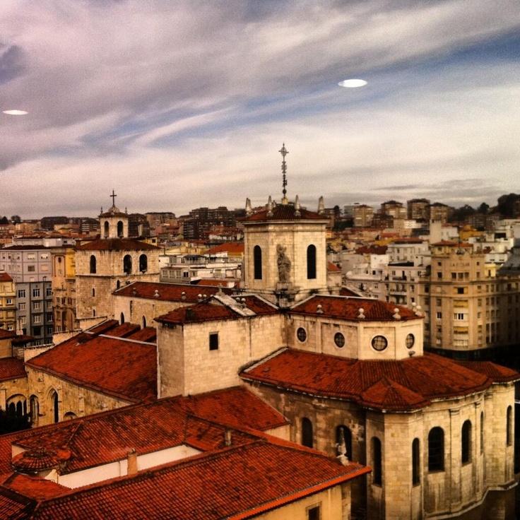 Catedral de #Santander #Cantabria #Spain