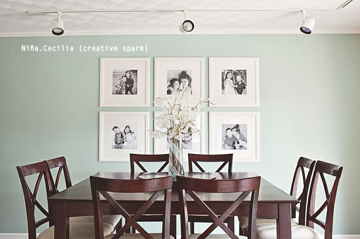 Dining room 12x12 prints on 19x19 frames from ikea for 12x12 room ideas