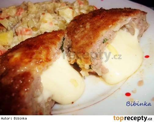 Plněné gyrosové bochánky z mletého masa