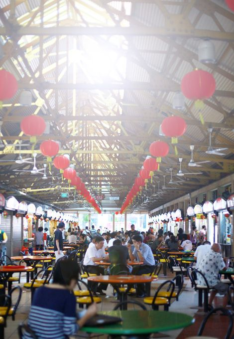 Maxwell Market #Singapore #Hawker