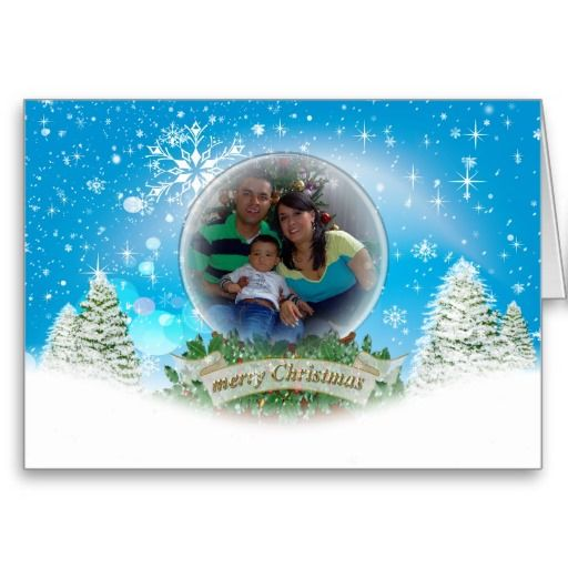 photo greeting card