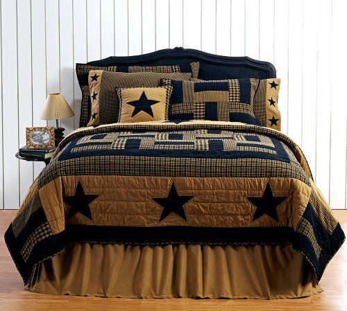 Texas style country bedding. #Texas #Country #Bedding - I love this country style bedding set with the stars and nice colors.