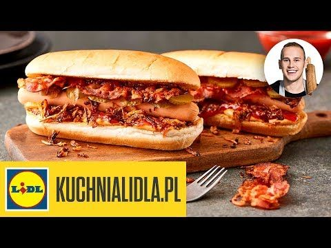 Domowe HOT DOGI | DG & Kuchnia Lidla - YouTube