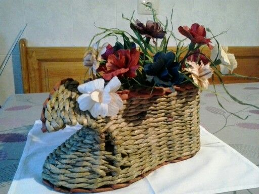 Lorcho con flores de millo