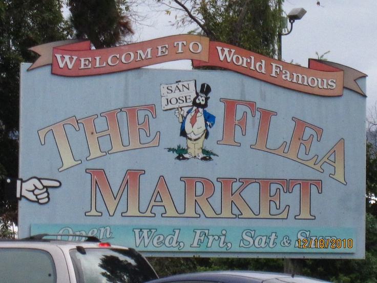Счастливые будни!: Блошиный рынок в Сан-Хосе. The Flea Market.