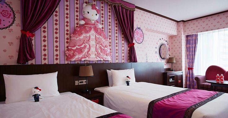 Hello Kitty room, Keio Plaza Hotel, Tokyo