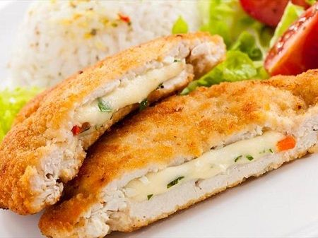 Rachel Khoo: Chicken Cordon Bleu : wn