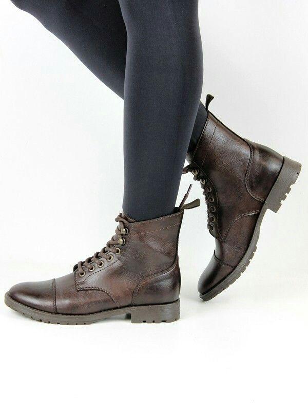 37d21659e7605 Wills vegan shoes women's work boots dark brown #womensworkfashion ...