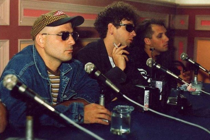 Conferencia de prensa por el álbum DYNAMO. Santiago, Chile 14 de Diciembre de 1992